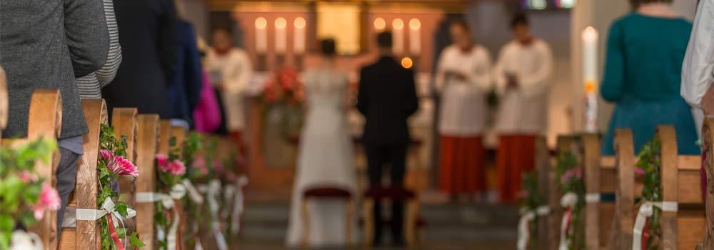 Kirchliche Trauung Bild