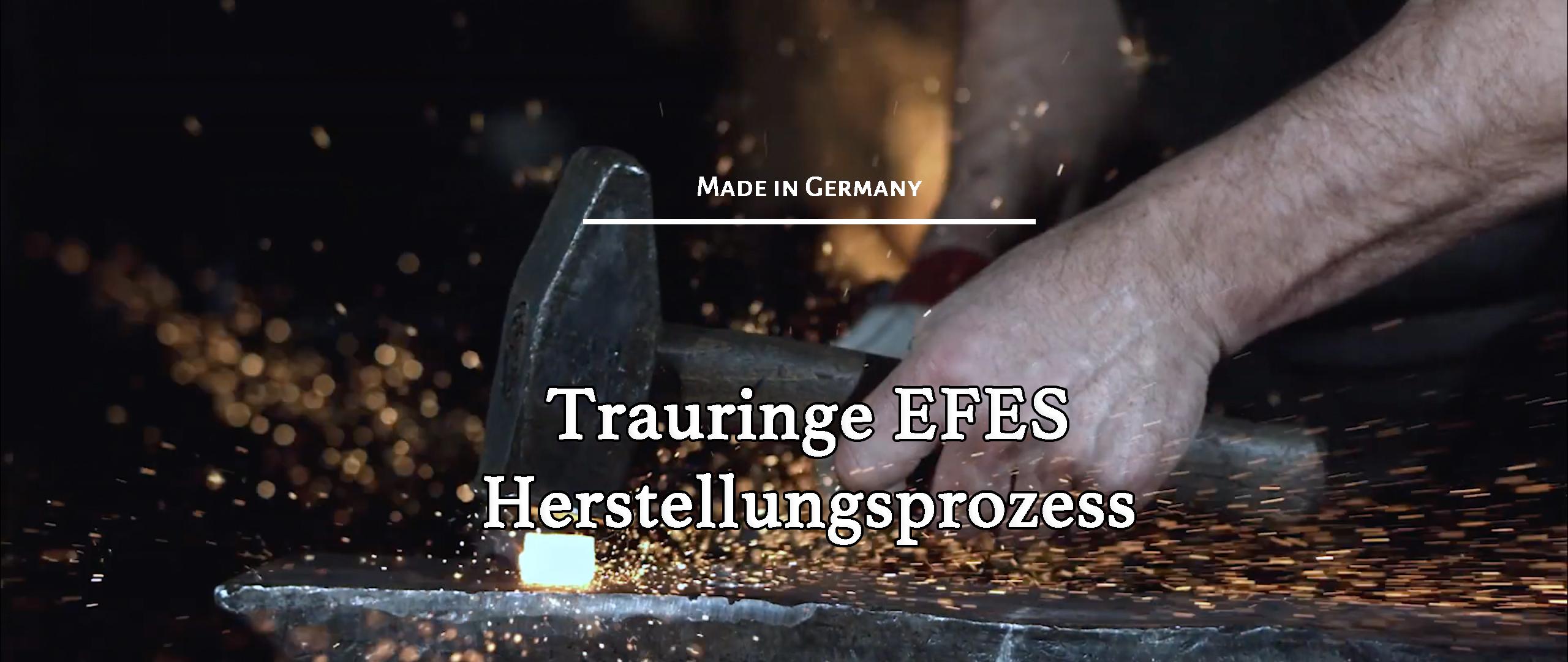 Herrstellungsprozess von Trauringe-EFES.de